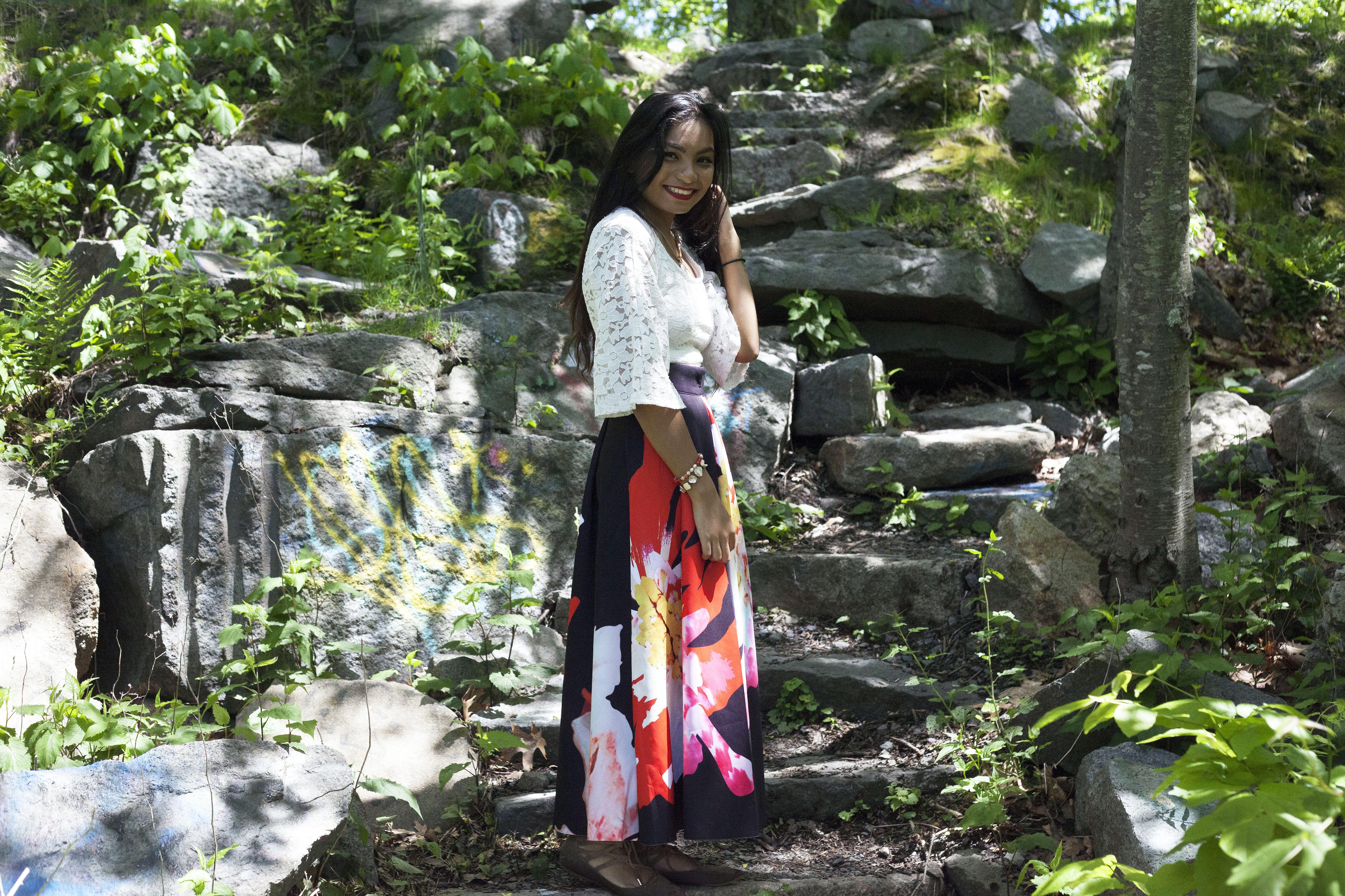 Shein-Floral-Maxi-Skirt-Lacey-Shirt-Fashionista-Style-Blogger-LINDATENCHITRAN-8-1616x1080