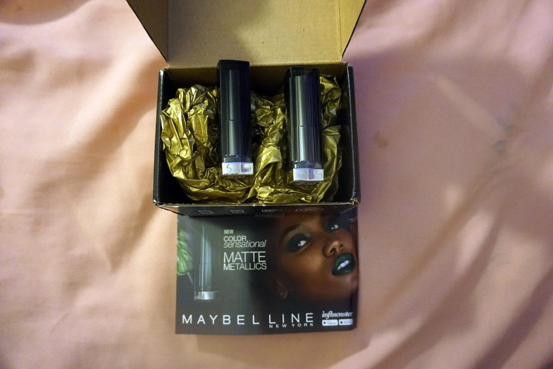 Influenster Voxbox: Maybelline Review