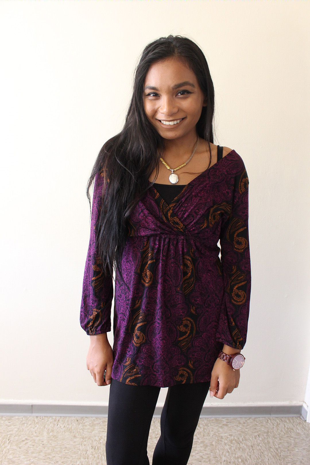 Purple Top for Fall