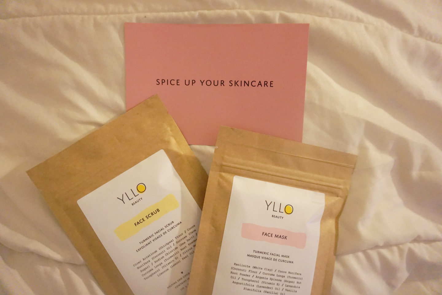 YLLO – Face Scrub and Face Mask Review